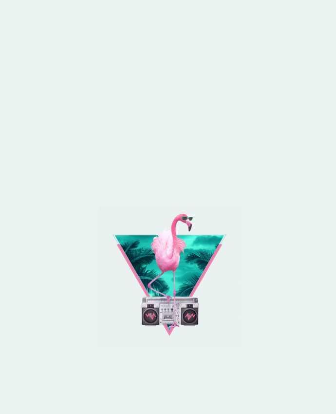 Sac en Toile Coton Miami flamingo par robertfarkas