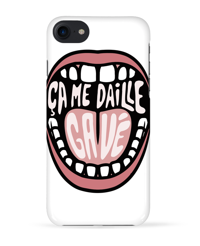 Coque 3D Iphone 7 ça me daille gavé bouche de tunetoo