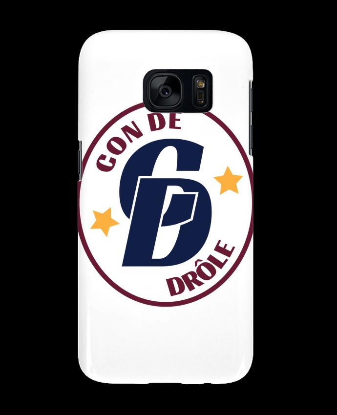 Coque 3D Samsung Galaxy S7 Con de drôle blason par tunetoo