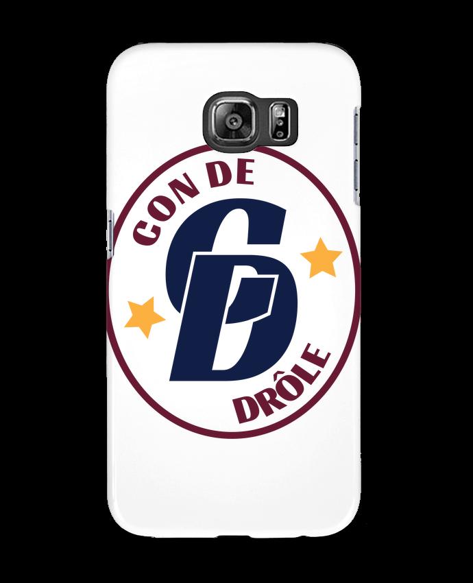 Coque 3D Samsung Galaxy S6 Con de drôle blason - tunetoo