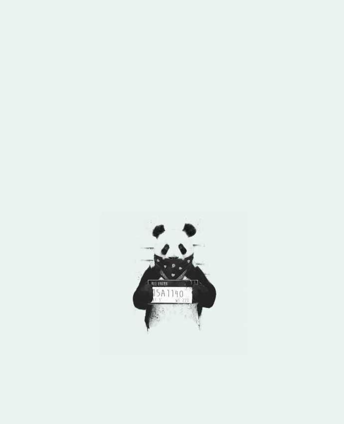 Sac en Toile Coton Bad panda par Balàzs Solti