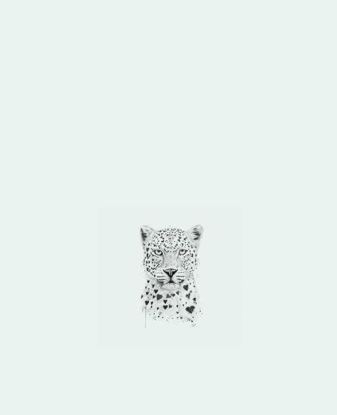 Sac en Toile Coton lovely_leopard par Balàzs Solti