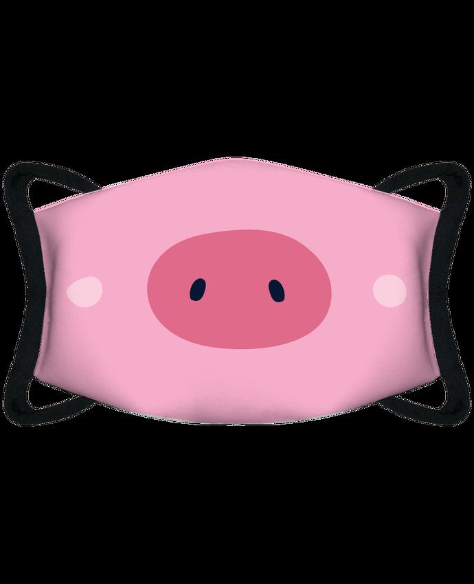Masque de Protection Sublimable Tunetoo Nez de cochon par tunetoo