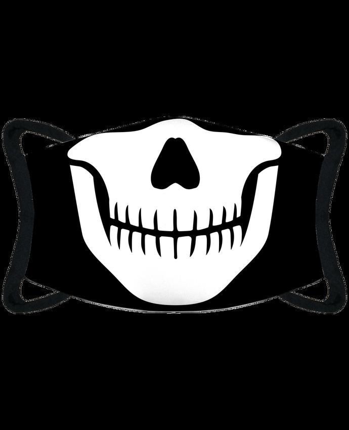 Masque de Protection Sublimable Tunetoo Bouche squelette par tunetoo