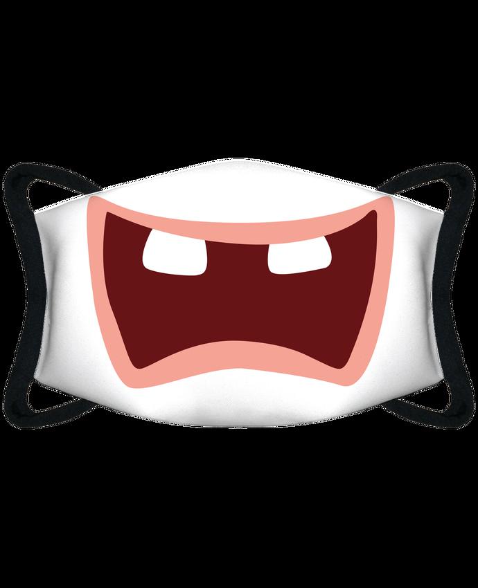 Masque de Protection Sublimable Tunetoo Bouche lapin crétin par tunetoo