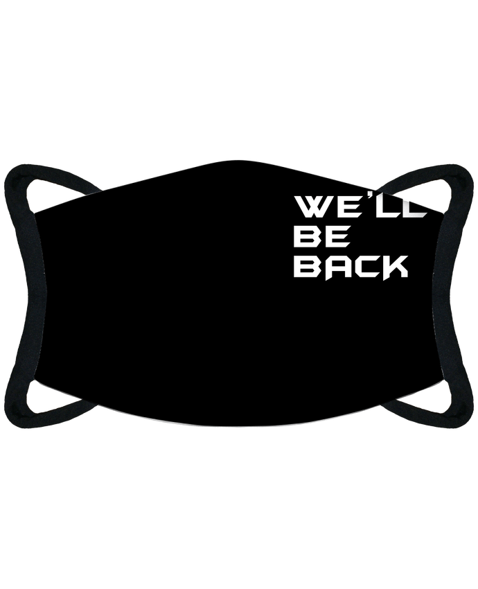 Masque de Protection Sublimable Tunetoo Terminator - Well' be back par tunetoo