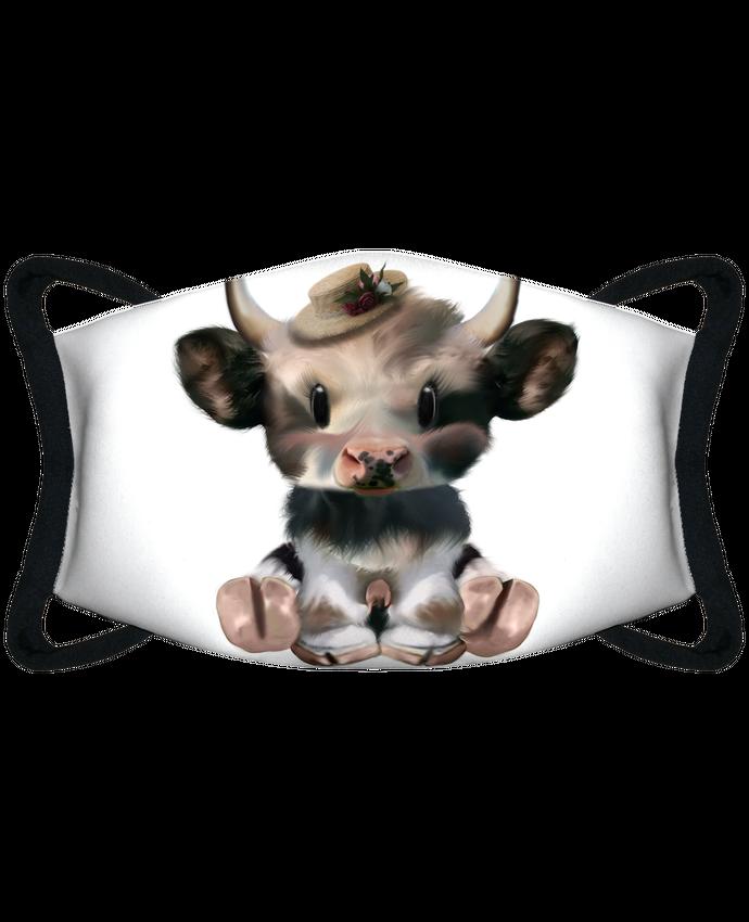 Masque de Protection Sublimable Tunetoo petite vache par artcreationstudio