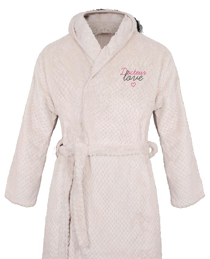 Peignoir Femme Soft Coral Fleece Docteur Love par tunetoo