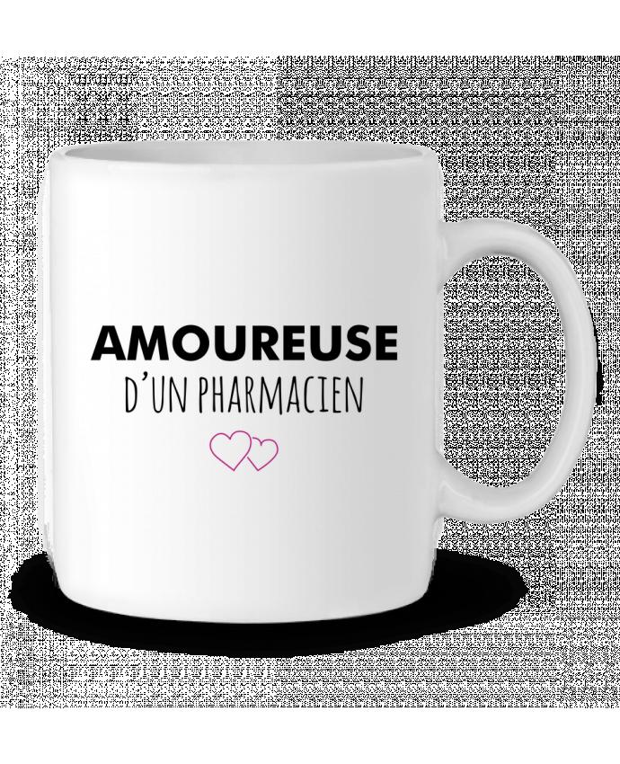 Mug en Céramique Amoureuse d'un pharmacien par tunetoo