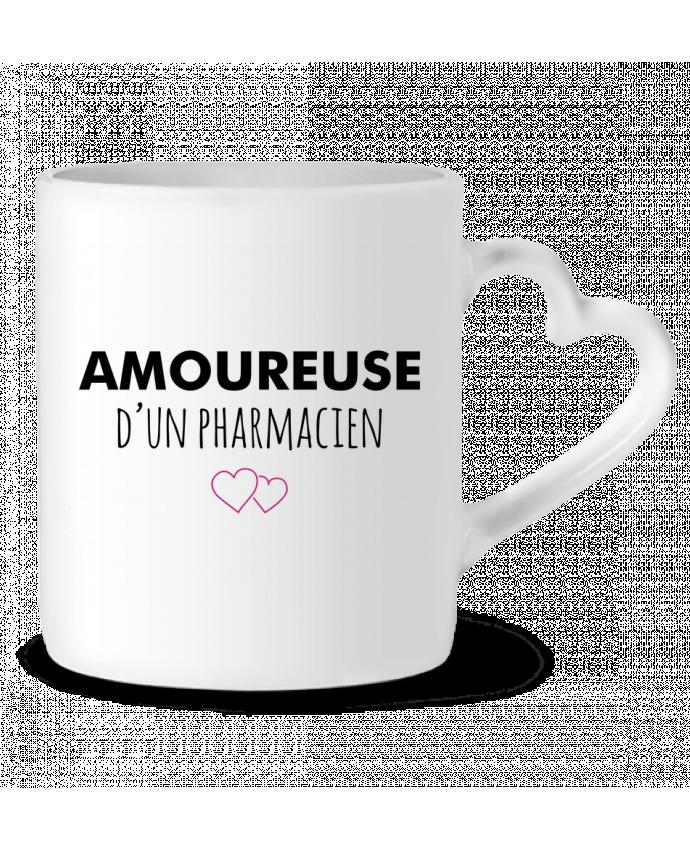 Mug Coeur Amoureuse d'un pharmacien par tunetoo