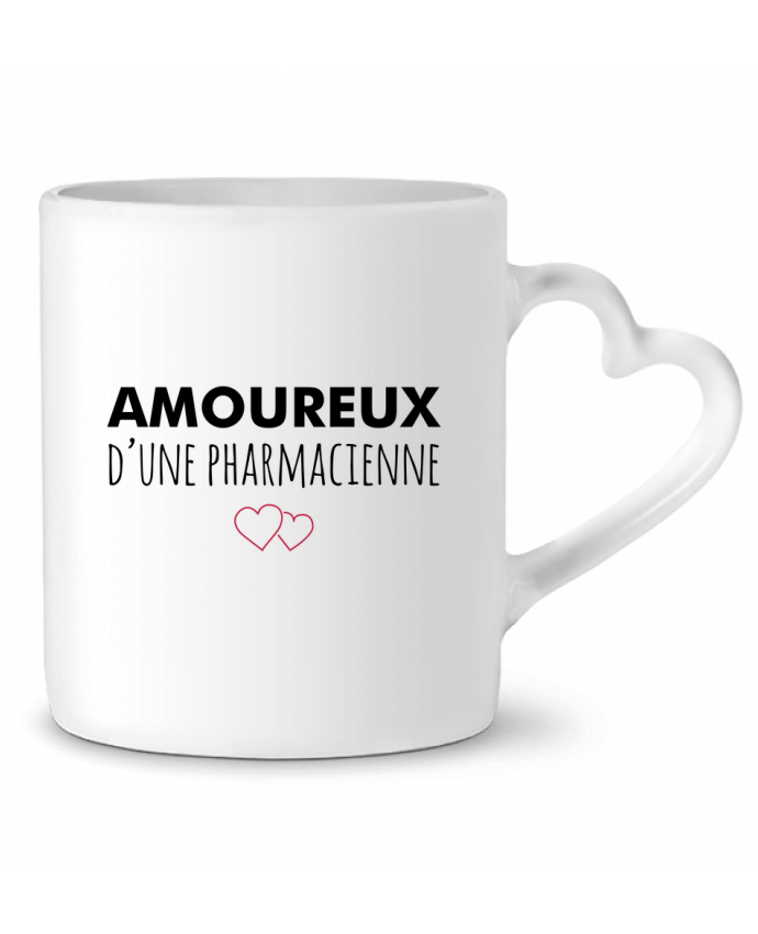 Mug Coeur Amoureux d'une pharmacienne par tunetoo