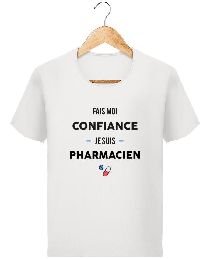 T-shirt Homme Stanley Imagines Vintage Fais moi confiance je suis pharmacien par tunetoo