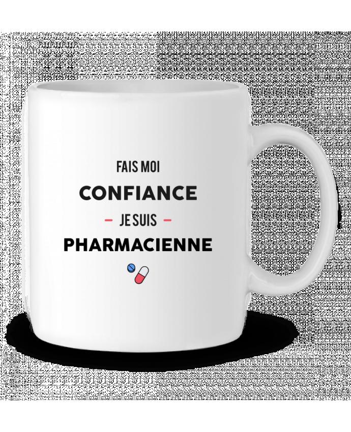 Mug  Fais moi confiance je suis pharmacienne par tunetoo