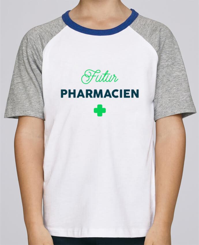 Tee-Shirt Enfant Stanley Mini Jump Short Sleeve Futur pharmacien par tunetoo