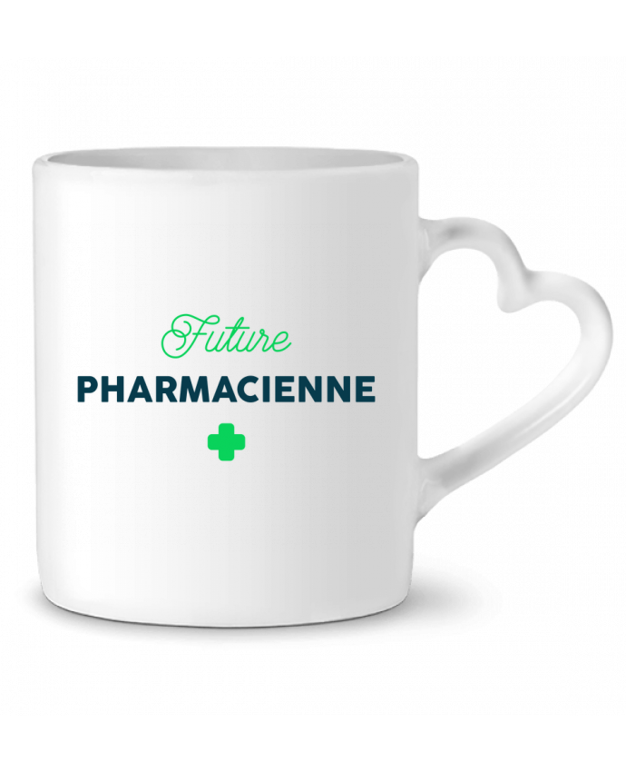 Mug Coeur Future pharmacienne par tunetoo