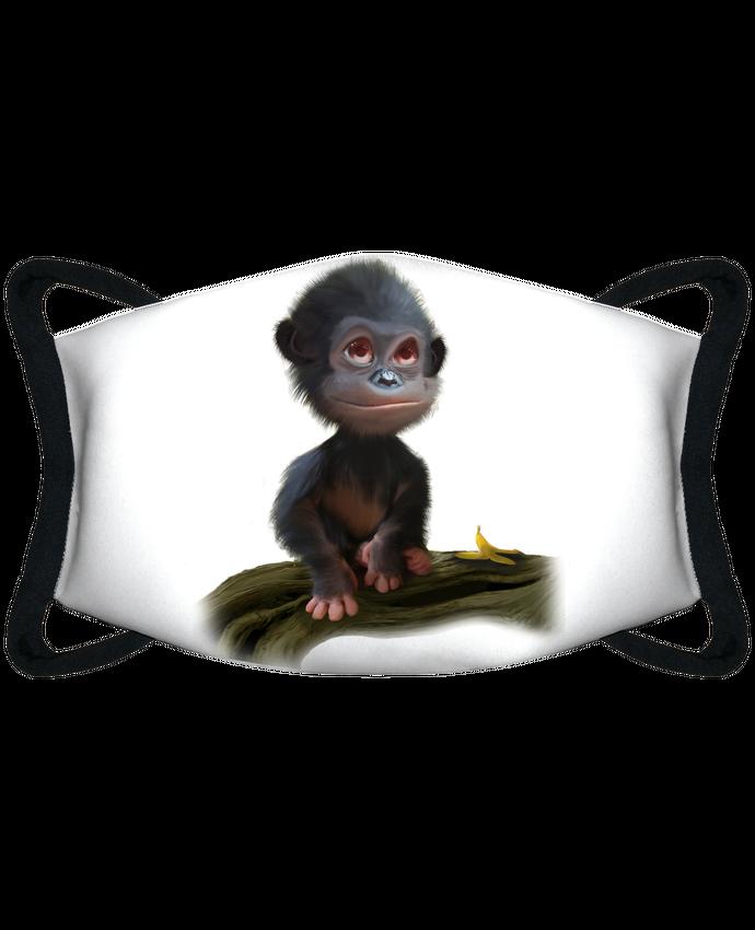 Masque de Protection Sublimable Tunetoo bonobo par artcreationstudio