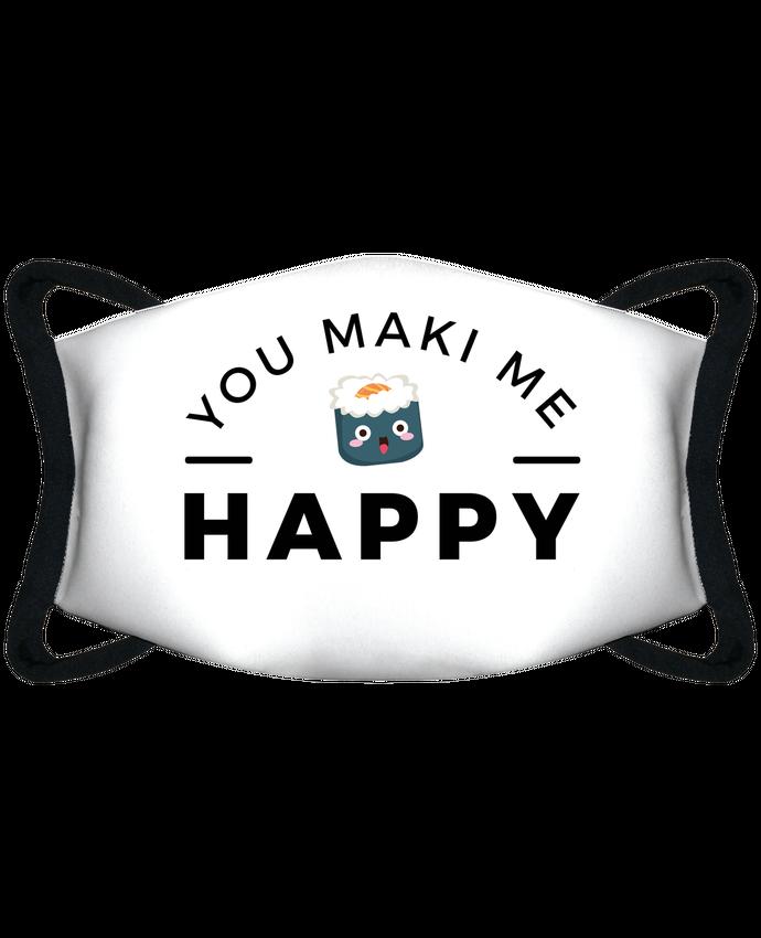Masque de Protection Sublimable Tunetoo You Maki me Happy par Nana