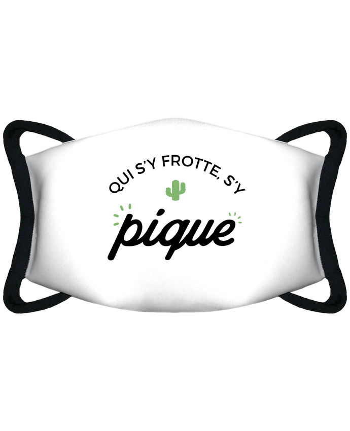 Masque de Protection Sublimable Tunetoo Qui s'y frotte d'y pique par Nana