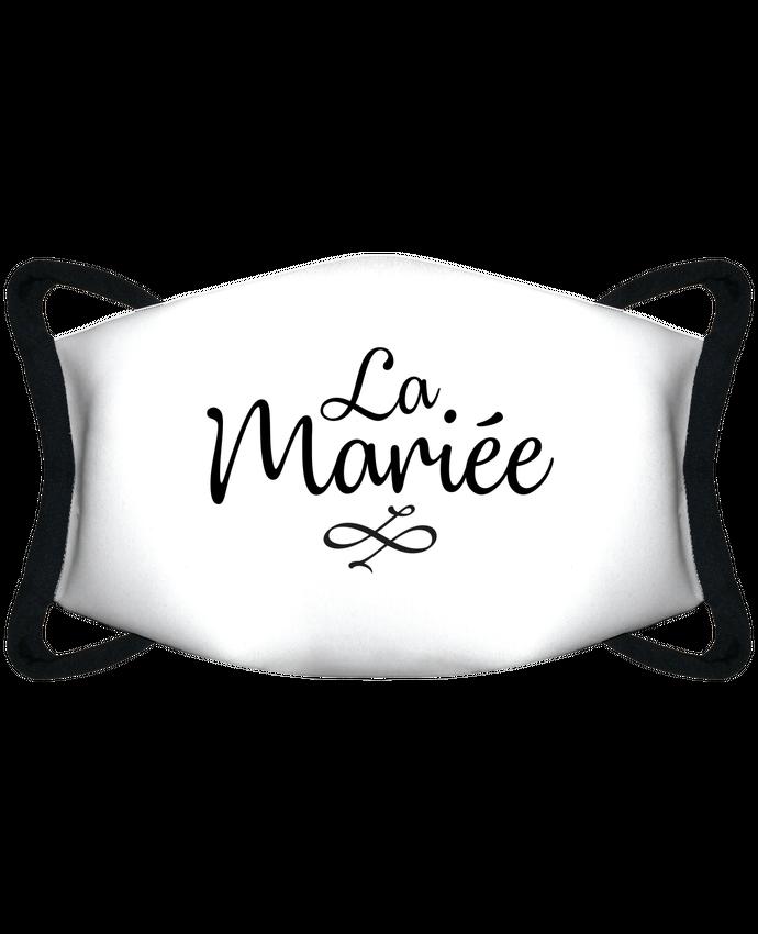 Masque de Protection Sublimable Tunetoo La mariée par Nana