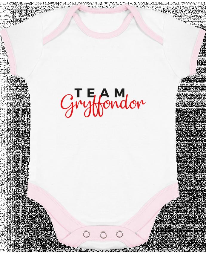 Body Bébé Contrasté Team Gryffondor par Nana