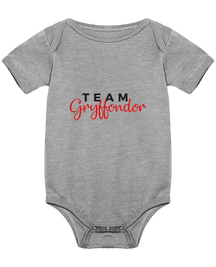 Body Bébé Team Gryffondor par Nana