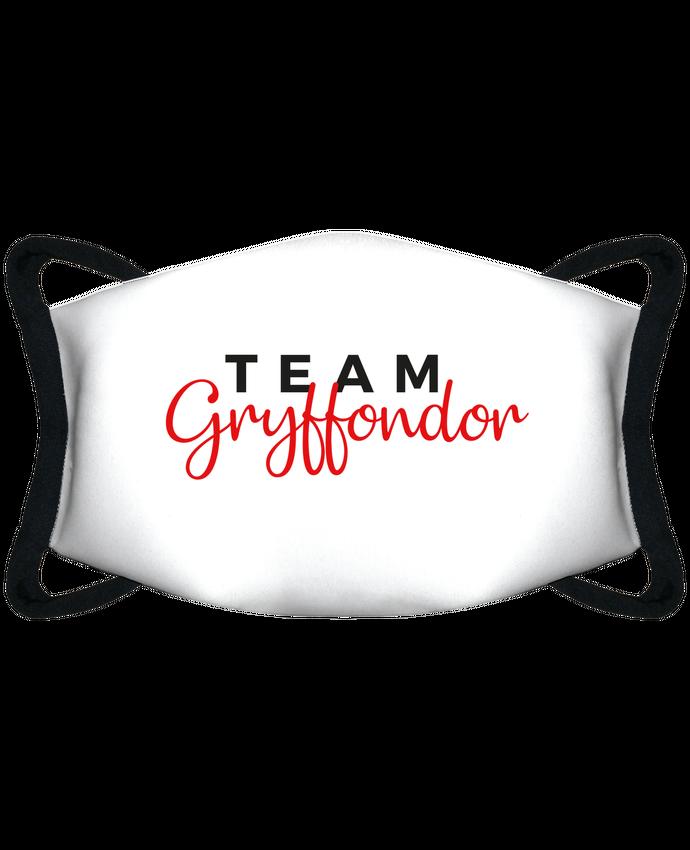 Masque de Protection Sublimable Tunetoo Team Gryffondor par Nana