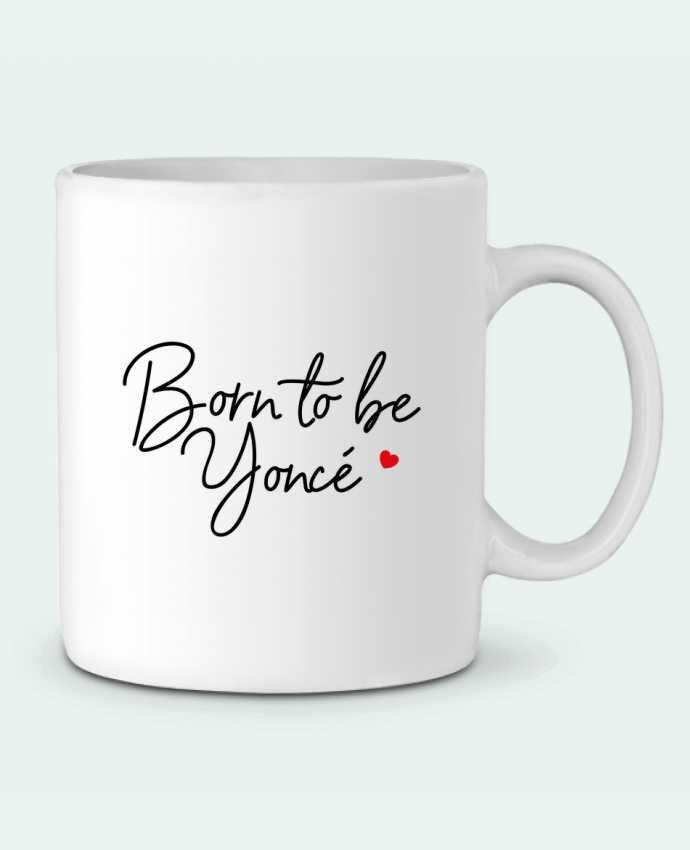 Mug en Céramique Born to be Yoncé par Nana