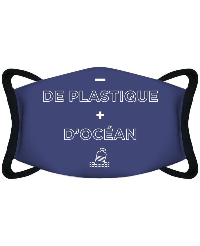 Masque de Protection Sublimable Tunetoo - de plastique + d'océan - Masque de Protection Sublimable Tunetoo par tunetoo