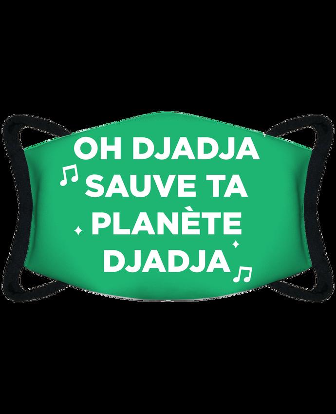 Masque de Protection Sublimable Tunetoo Sauve ta ta planète Djadja - Masque de Protection Sublimable Tunetoo par tunetoo