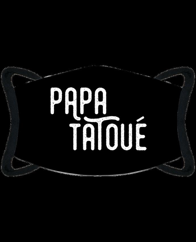 Masque de Protection Sublimable Tunetoo Papa tatoué - Masque de Protection Sublimable Tunetoo par tunetoo