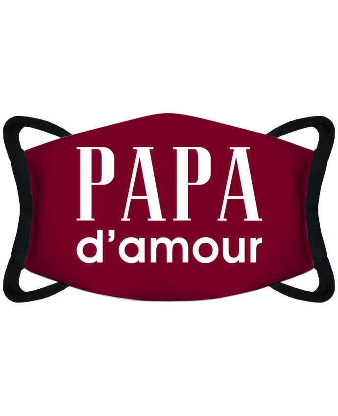 Masque de Protection Sublimable Tunetoo Papa d'amour - Masque de Protection Sublimable Tunetoo par tunetoo