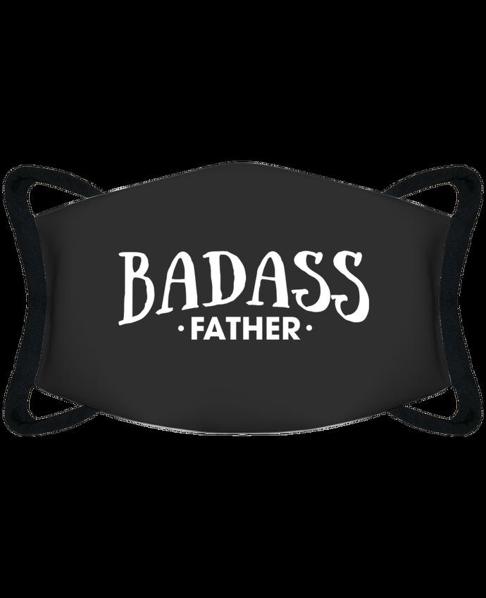 Masque de Protection Sublimable Tunetoo Badass father - Masque de Protection Sublimable Tunetoo par tunetoo