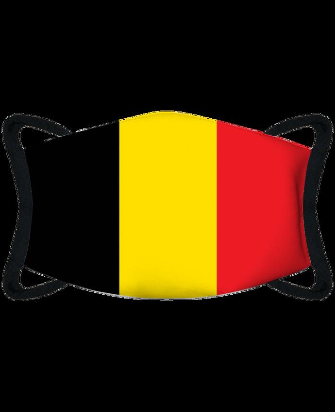 Masque de Protection Sublimable Tunetoo Drapeau Belgique par tunetoo