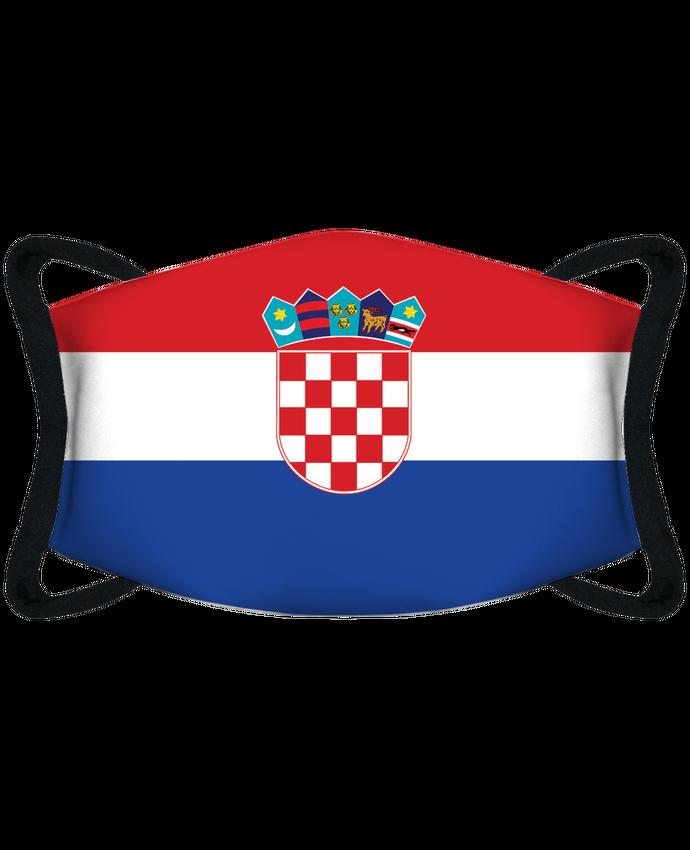 Masque de Protection Sublimable Tunetoo Drapeau Croatie par tunetoo