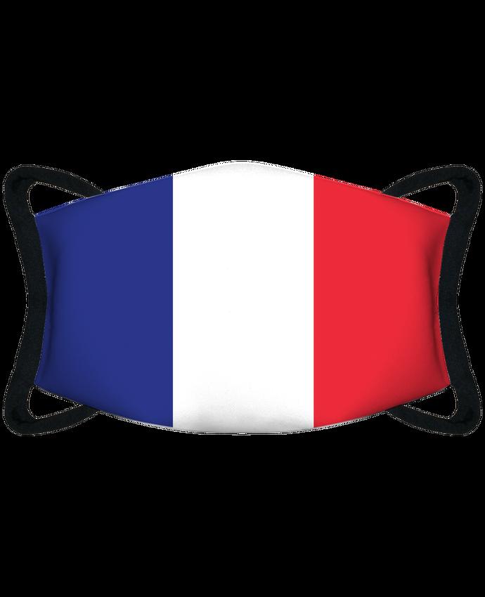 Masque de Protection Sublimable Tunetoo Drapeau France par tunetoo