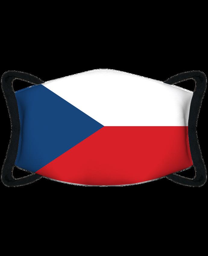 Masque de Protection Sublimable Tunetoo Drapeau République Tchèque par tunetoo