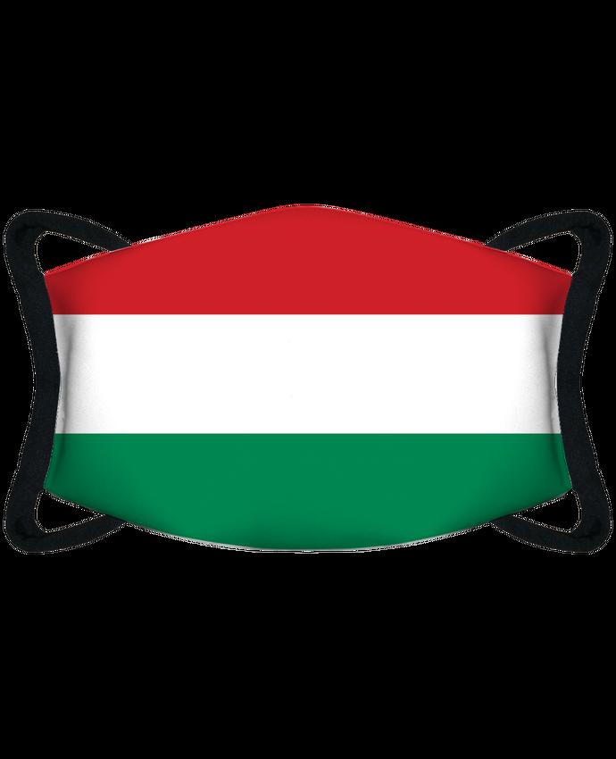 Masque de Protection Sublimable Tunetoo Drapeau Hongrie par tunetoo