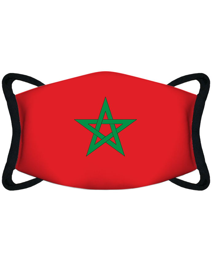 Masque de Protection Sublimable Tunetoo Drapeau Maroc par tunetoo