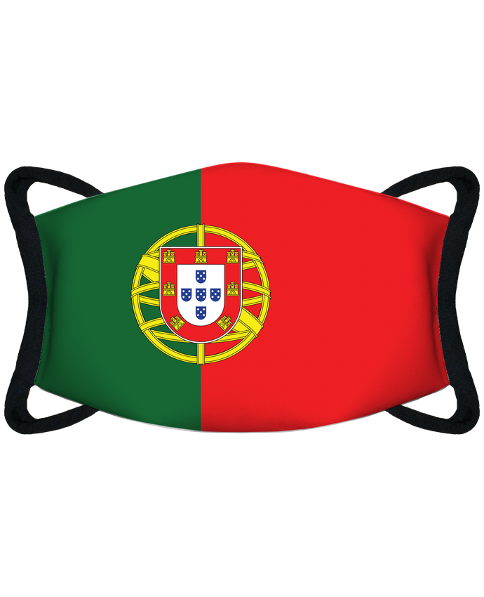 Masque de Protection Sublimable Tunetoo Drapeau Portugal par tunetoo