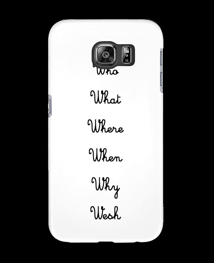 Coque 3D Samsung Galaxy S6 5W - tattooanshort