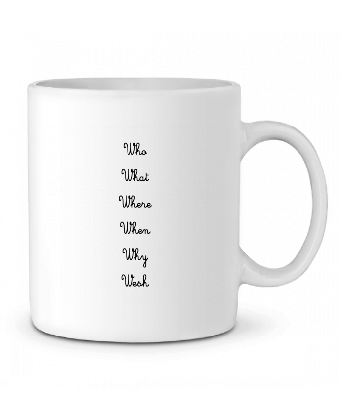 Mug en Céramique 5W par tattooanshort