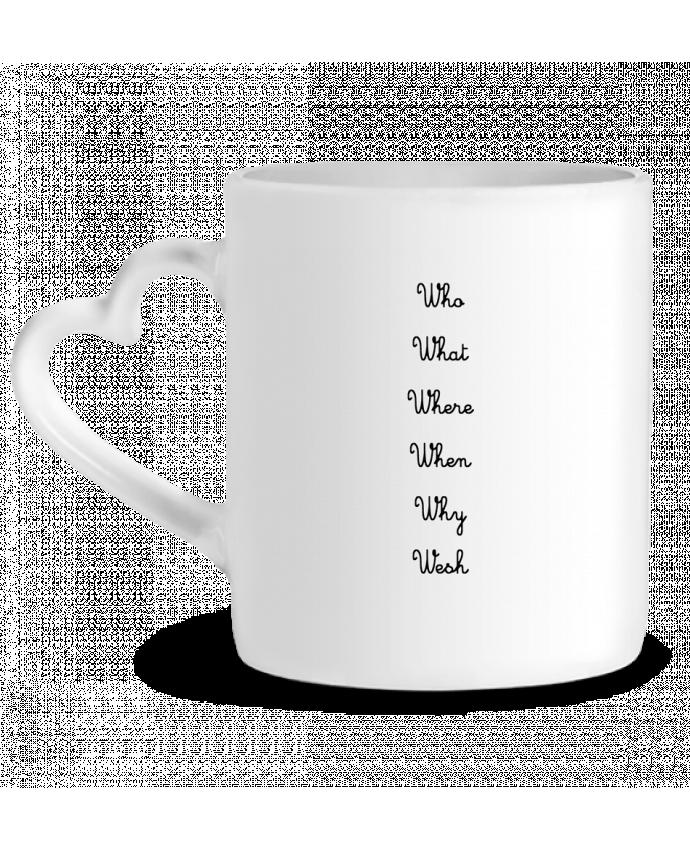 Mug Coeur 5W par tattooanshort
