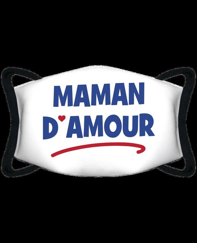 Masque de Protection Sublimable Tunetoo Maman d'amour - Masque de Protection Sublimable Tunetoo par tunetoo
