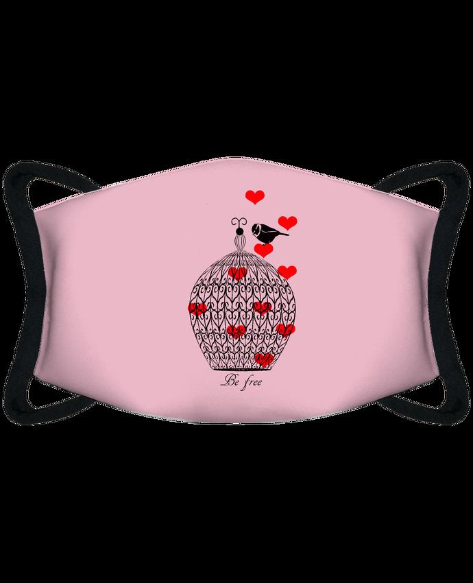 Masque de Protection Sublimable Tunetoo Be free par Les Caprices de Filles