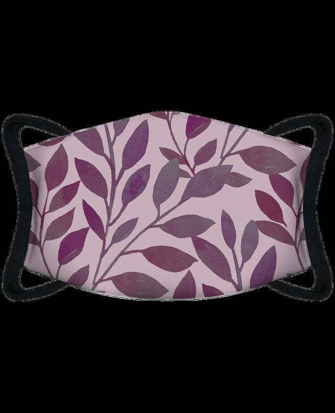 Masque de Protection Sublimable Tunetoo Feuilles par Les Caprices de Filles