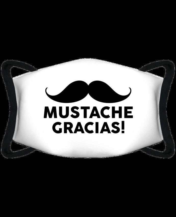 Masque de Protection Sublimable Tunetoo Mustache Gracias ! par tunetoo