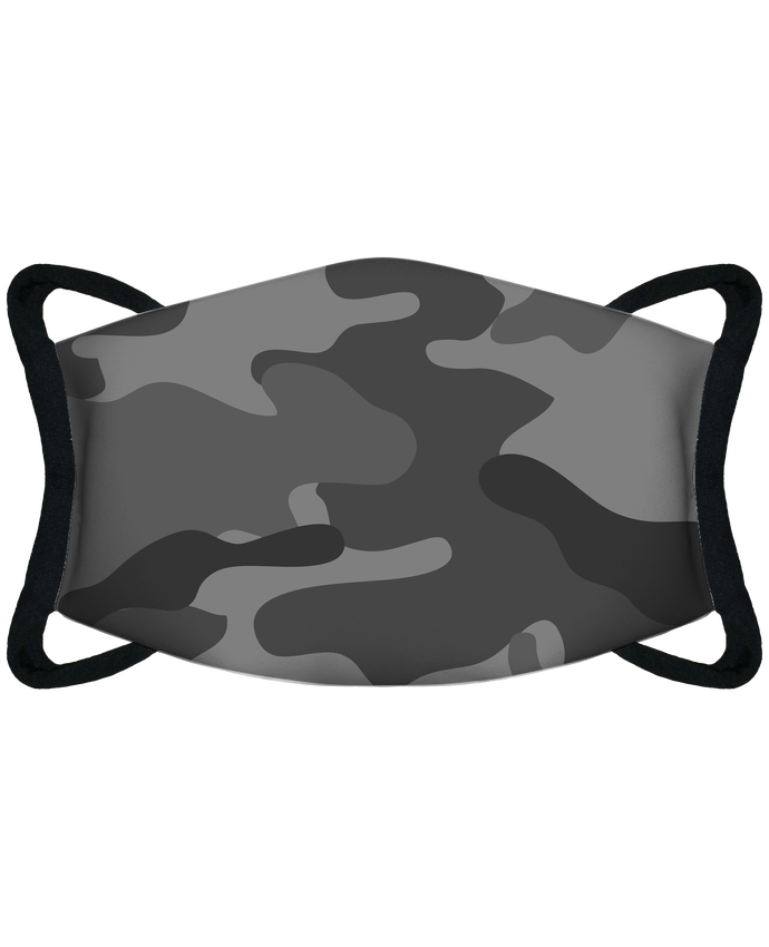 Masque de Protection Sublimable Tunetoo Camouflage gris par justsayin