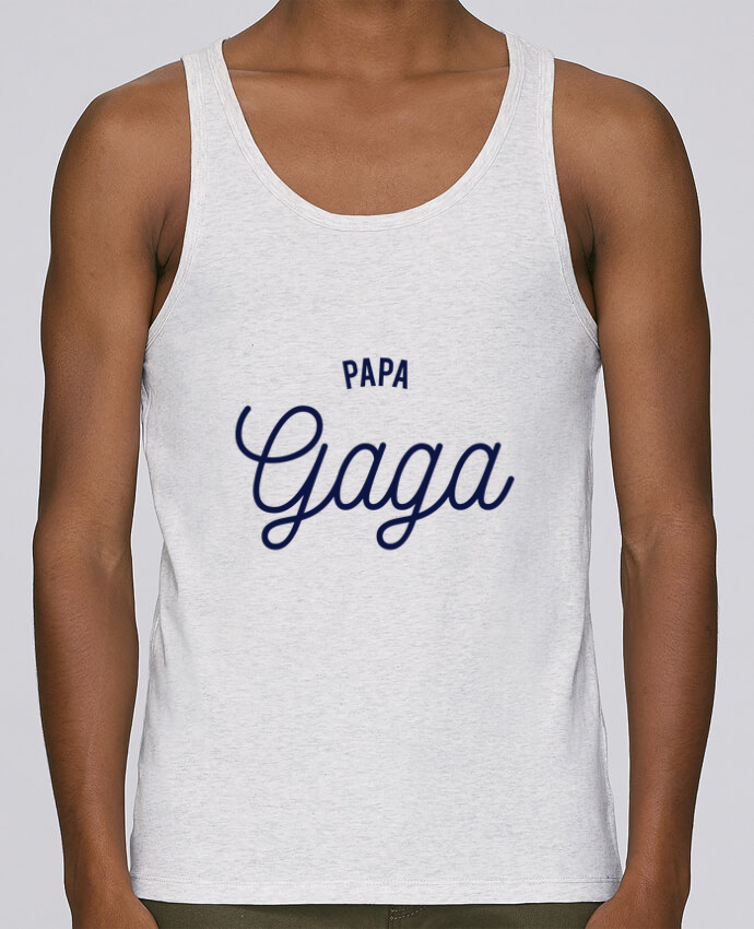 Débardeur Bio Homme Stanley Runs Papa Gaga par tunetoo 100% coton bio