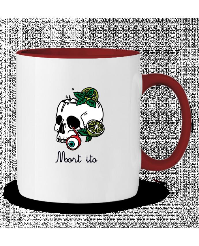 Mug en Céramique Bicolore Mort ito tattooanshort