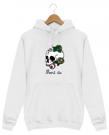 Sweat Shirt à Capuche Homme Mort ito par tattooanshort